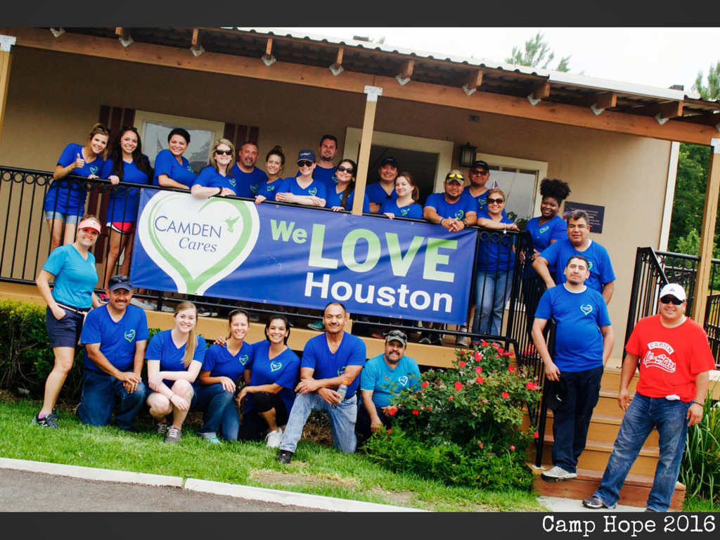 Camden Cares: Houston