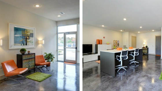 Live Work Spaces at Camden Lamar Heights