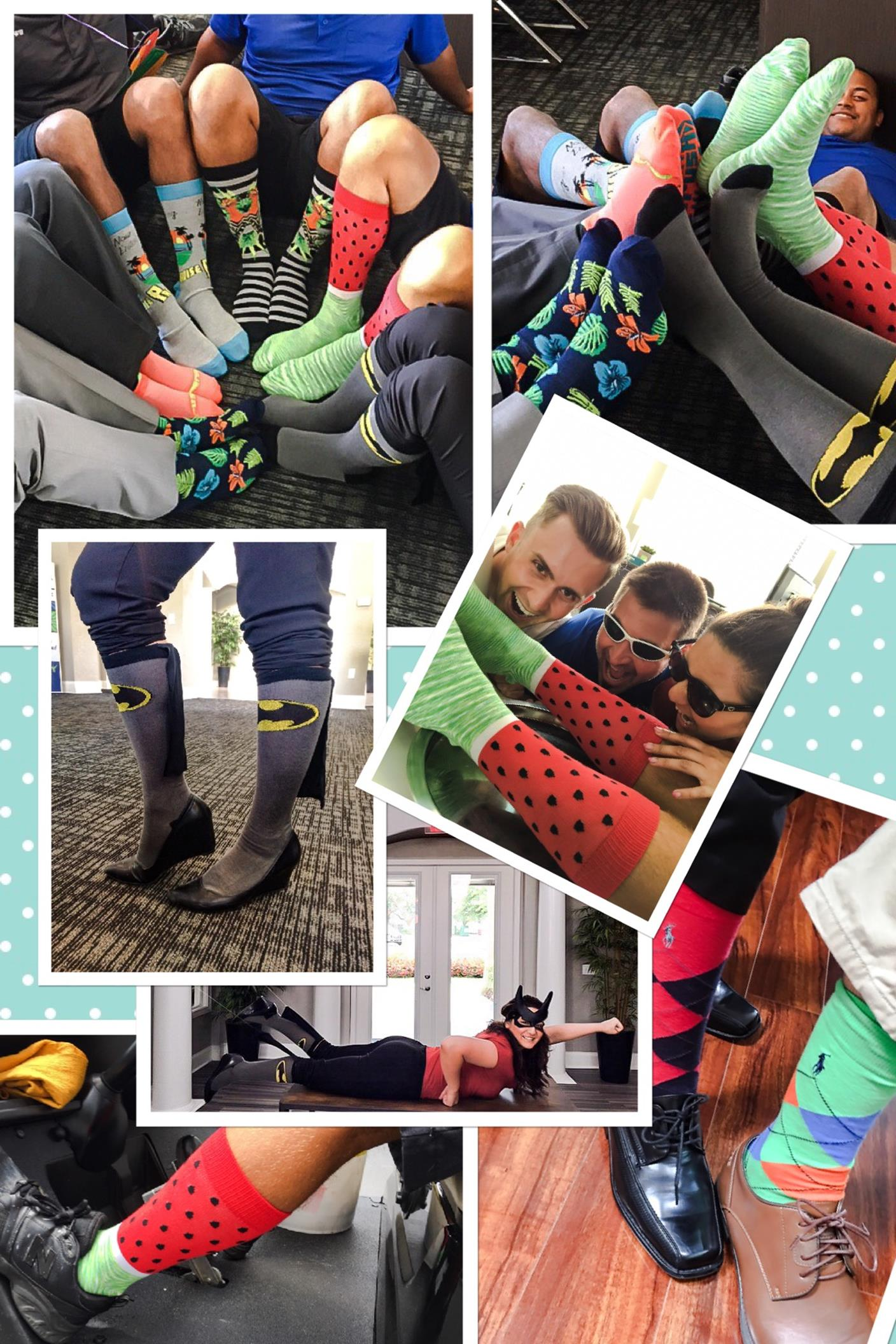 Fun Sock Friday Makes Camden a Great Place to Work