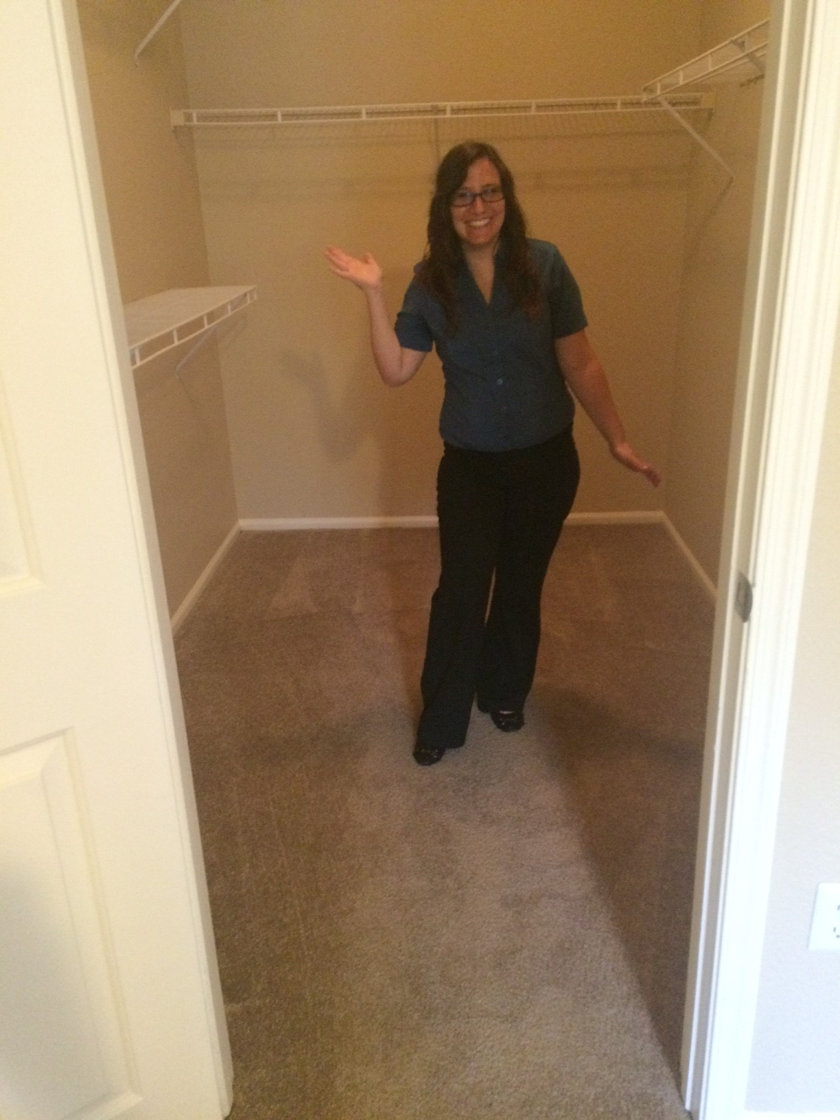 Awesome walk in closet in your chandler apartment