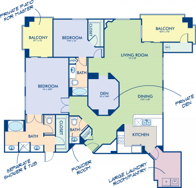 Camden Sotelo - Slate Floorplan