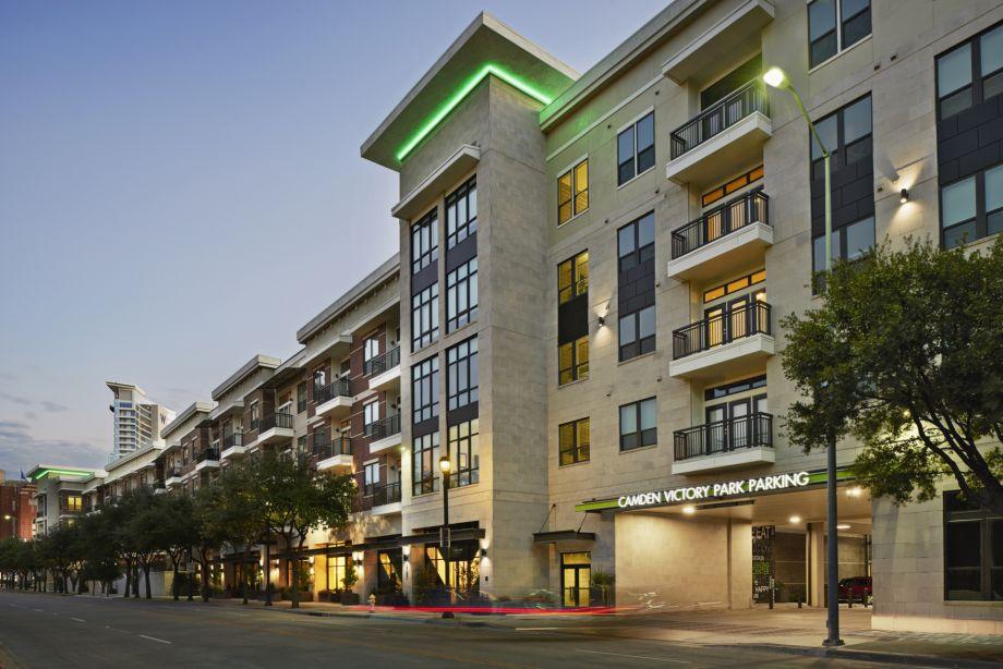 Camden Victory Park Apartments Dallas Tx
